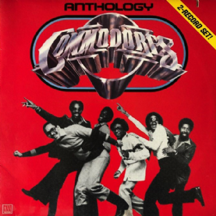 Commodores ‎- Anthology (LP) (VG-/VG)